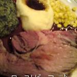 「ローストビーフ」お別れ会ランチ