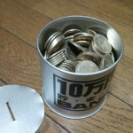 500円玉貯金がいっぱいになりました