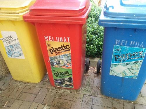 「シンガポールはごみの分別が不要」?