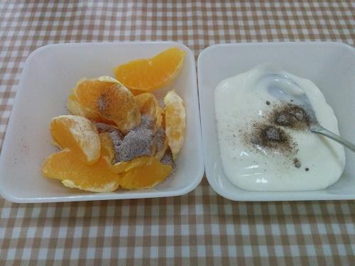 オレンジ/ヨーグルト+酸梅粉