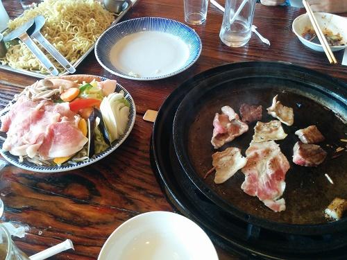 豚肉のバーベキュー