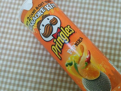 プリングルスのパプリカ味