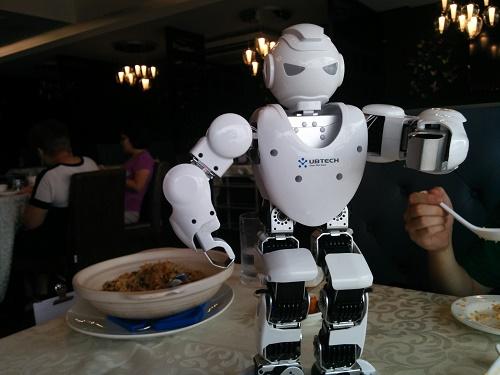 ホビーロボットもいました