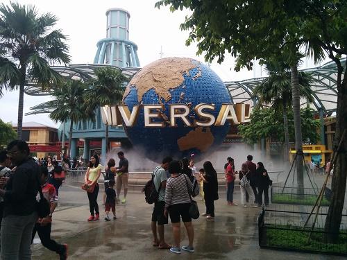 セントーサ1泊2日:ユニバーサル・スタジオ・シンガポールの感想