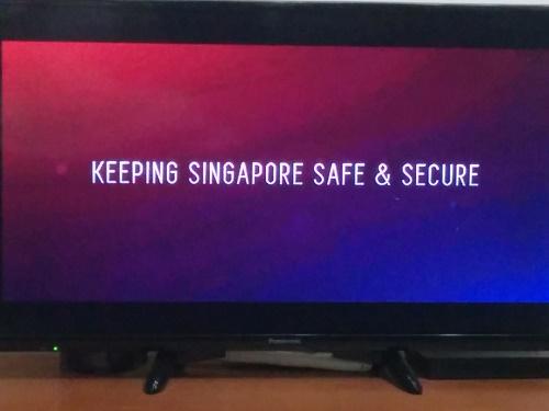 シンガポールのテロ警戒CM