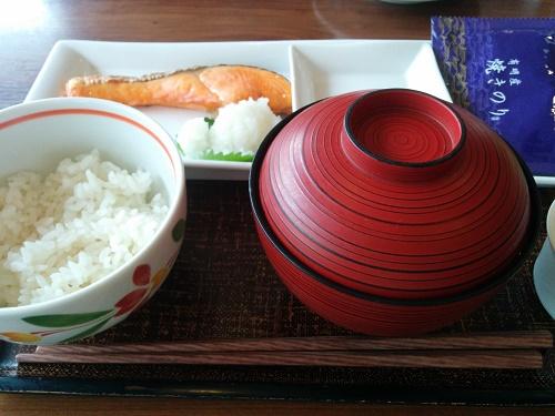 デニーズ焼鮭定食