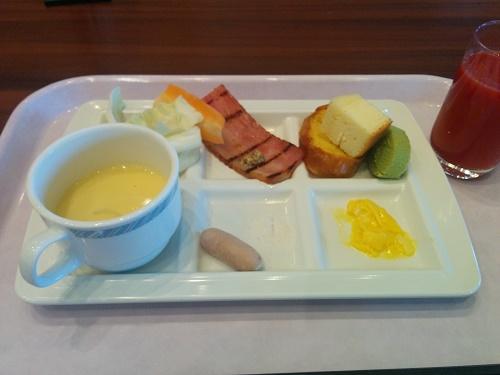 朝食ブッフェ(洋食バージョン)