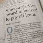 競泳スクーリング選手、金メダルの高額報奨金は借金返済へ?