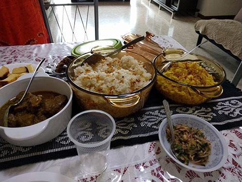 ハリ・ラヤ・ハジ(犠牲祭)で異文化体験!今年もお食事に招待いただきました
