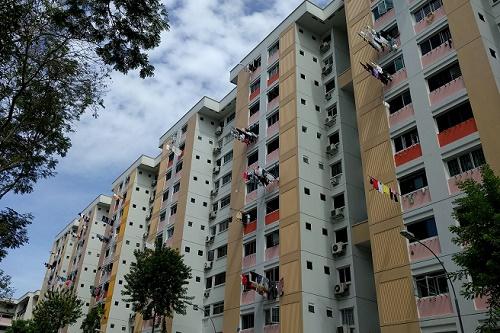 シンガポールのHDB(公団)