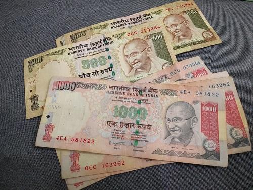 わが家で文字通り「紙くず」になってしまったインドの高額紙幣