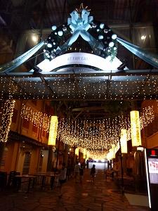 Far East Squareのクリスマス・イルミネーション