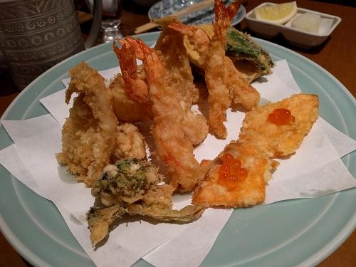 天ぷら盛り合わせ(二人分)