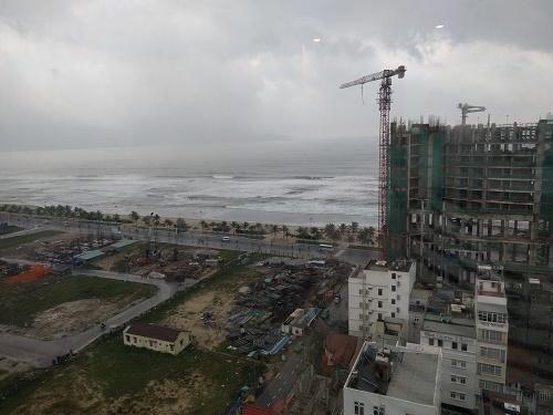 アバターホテル17階からみたビーチ方面