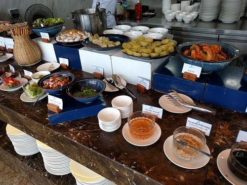 アバターホテルの朝食ブッフェ