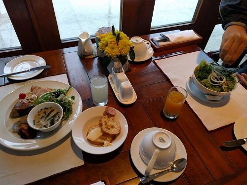 フラマの朝食ブッフェ