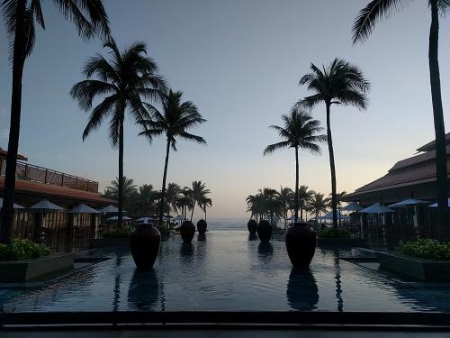 フラマから見る朝日