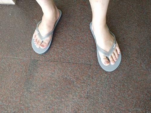 履きやすくて、歩きやすいビーチサンダル