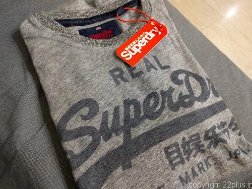 甥っ子用のSuperdryのTシャツ