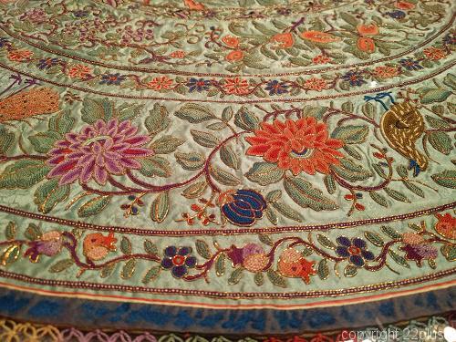 プラナカンの刺繍作品