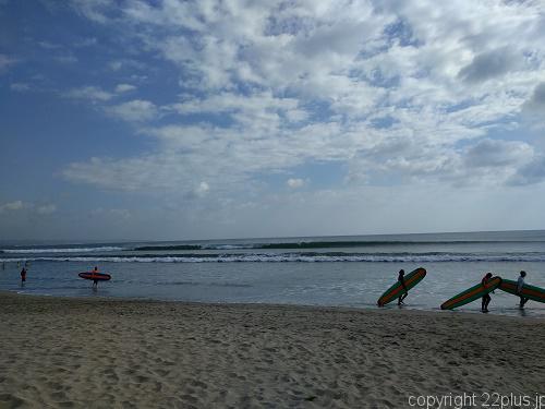 バリ島のクタビーチ
