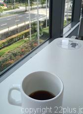 IKEAのレストランでコーヒー・ブレイク