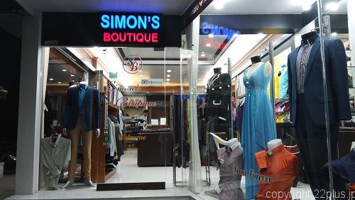 プーケットのテーラー「Simon's Boutique」