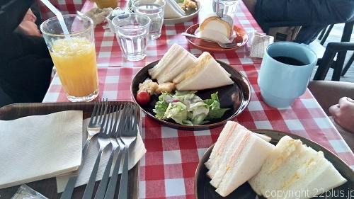 スカイツリーでの朝食