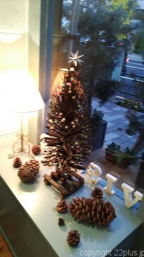 店内のクリスマスデコレーション