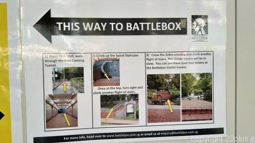 バトル・ボックスの道順