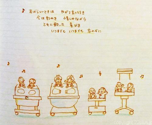 歌詞「さようなら」作詞・作曲:倉品正二