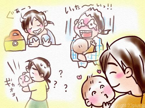 赤ちゃんの頃の思い出